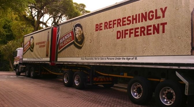 "SAB Trucks – ""we have seen some fuel saving op to 13%"" – SAB – Isando"